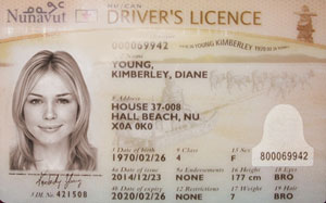 NU driver's licence